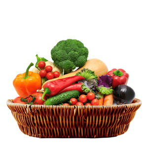 100% Organic fruit & vegetables